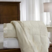 230 TC Down Blankets With Satin Trim