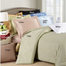 Twin Size Duvet Cover Set 650 TC Egyptian Cotton