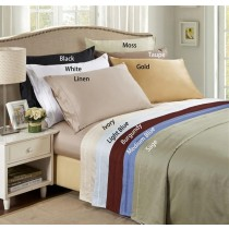 Twin XL 650TC Solid Sheet Sets