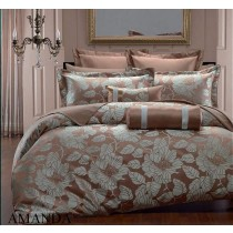 Amanda Hotel Collection Bed in a Bag - 9PC
