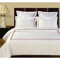 Amy Embroidered Duvet Cover Set