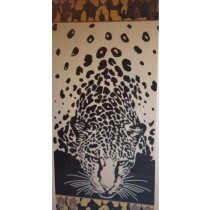 Big Cheetah Beach Towel