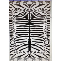 Zebra Print Beach Towel