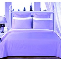 Egyptian Cotton 550TC Comforter Set - Light Blue