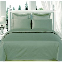 Egyptian Cotton 550TC Comforter Set - Sage Green