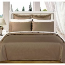 Egyptian Cotton 550TC Comforter Set - Taupe