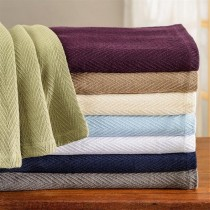 Luxurious 100% Cotton Metro Blanket