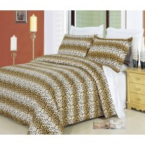 Cheetah Duvet Cover Set 100% Egyptian Cotton