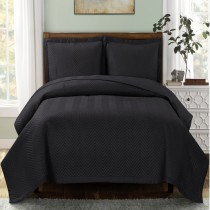 Chevron Oversized Coverlet / Bedspread Set