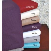 King Size Microchecker Sheet Sets