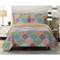 Dahlia Oversize Coverlet Quilt Set