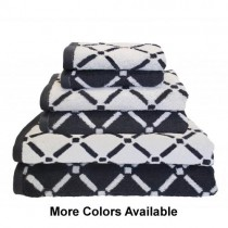 Reversible Diamond Cotton 6PC Towel Set