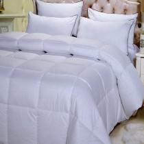 Egyptian Cotton 300 TC Overfilled Down Alternative Comforter