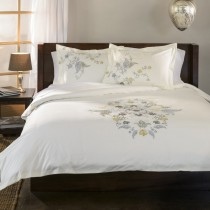 Hyacinth 3PC Cotton Duvet Cover Set