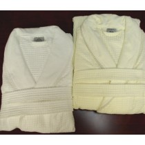 Egyptian Cotton Waffle Weave  Bath Robes