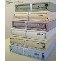 Full Size Sheet Sets 100% Egyptian Cotton Percale