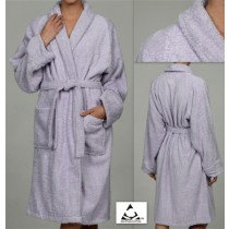 Egyptian Cotton Terry Bath Robes - Large