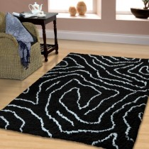 Carelton Hand Woven And Soft Shag Rug