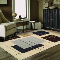 Modern Stella Geometric Area Rug Collection