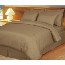 Egyptian Cotton 600TC Comforter Set - Taupe