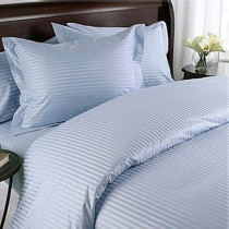 Egyptian Cotton 600TC Comforter Set - Light Blue