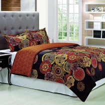 Sunburst 300tc Cotton Duvet Cover Set