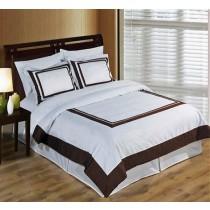 Hotel Duvet Cover Set 100% Egyptian Cotton - King/CalKing