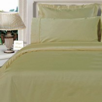 Twin XL Egyptian Cotton Comforter Set - Beige