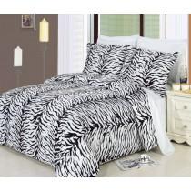 Zebra Duvet Cover Set 100% Egyptian Cotton