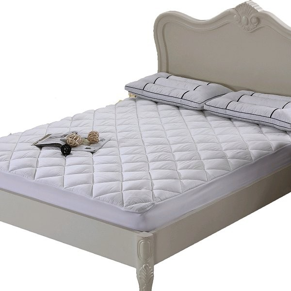 COOL & PLUSH 100% BAMBOO MATTRESS PAD TOPPER