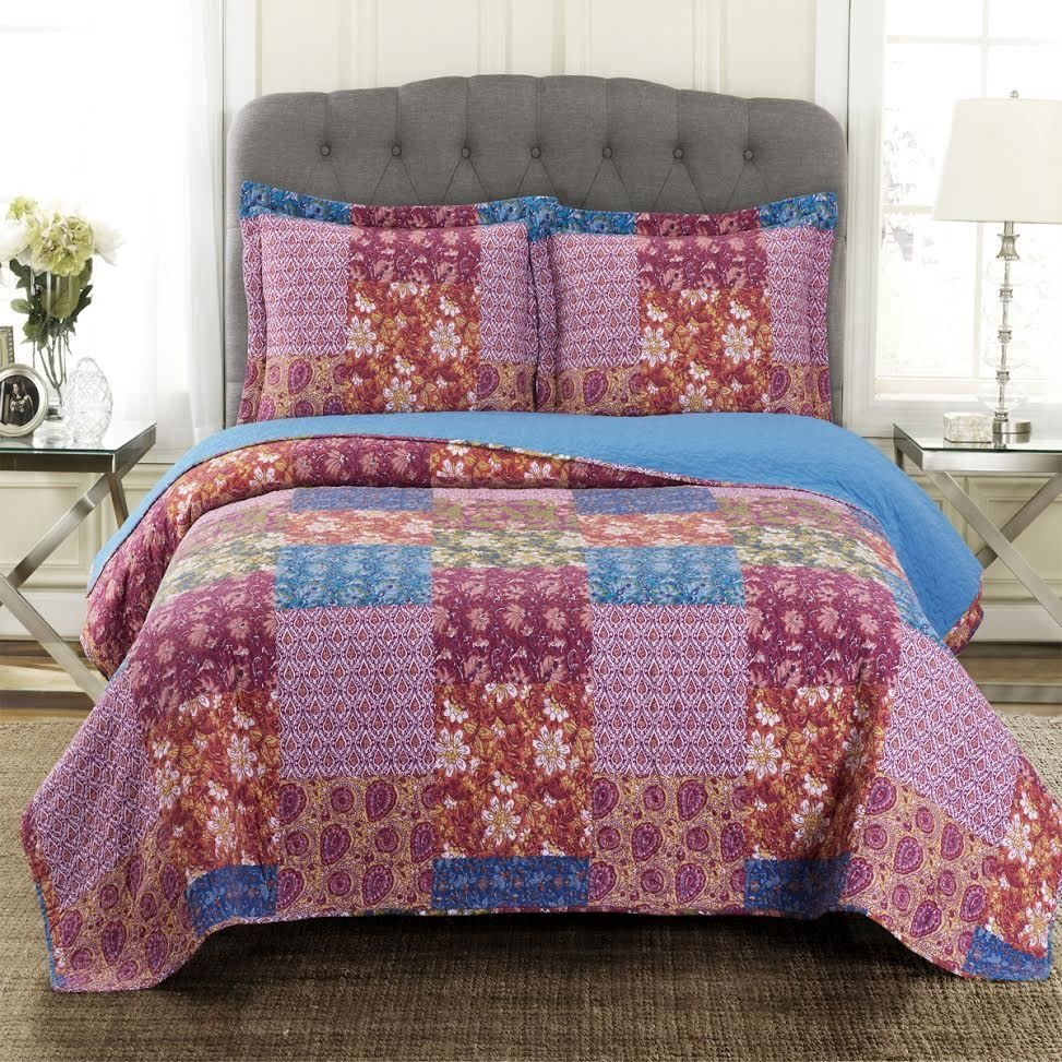Kenzy Oversize Coverlet Quilt Set