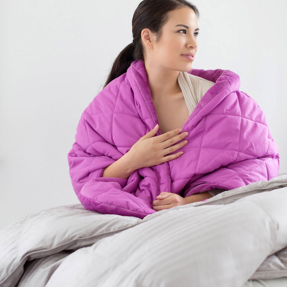 Snuggly Lounging Wrap Pink Shawl Throw