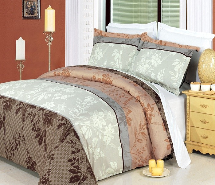 Cypress Egyptian Cotton Bed in a Bag 8 PC Set