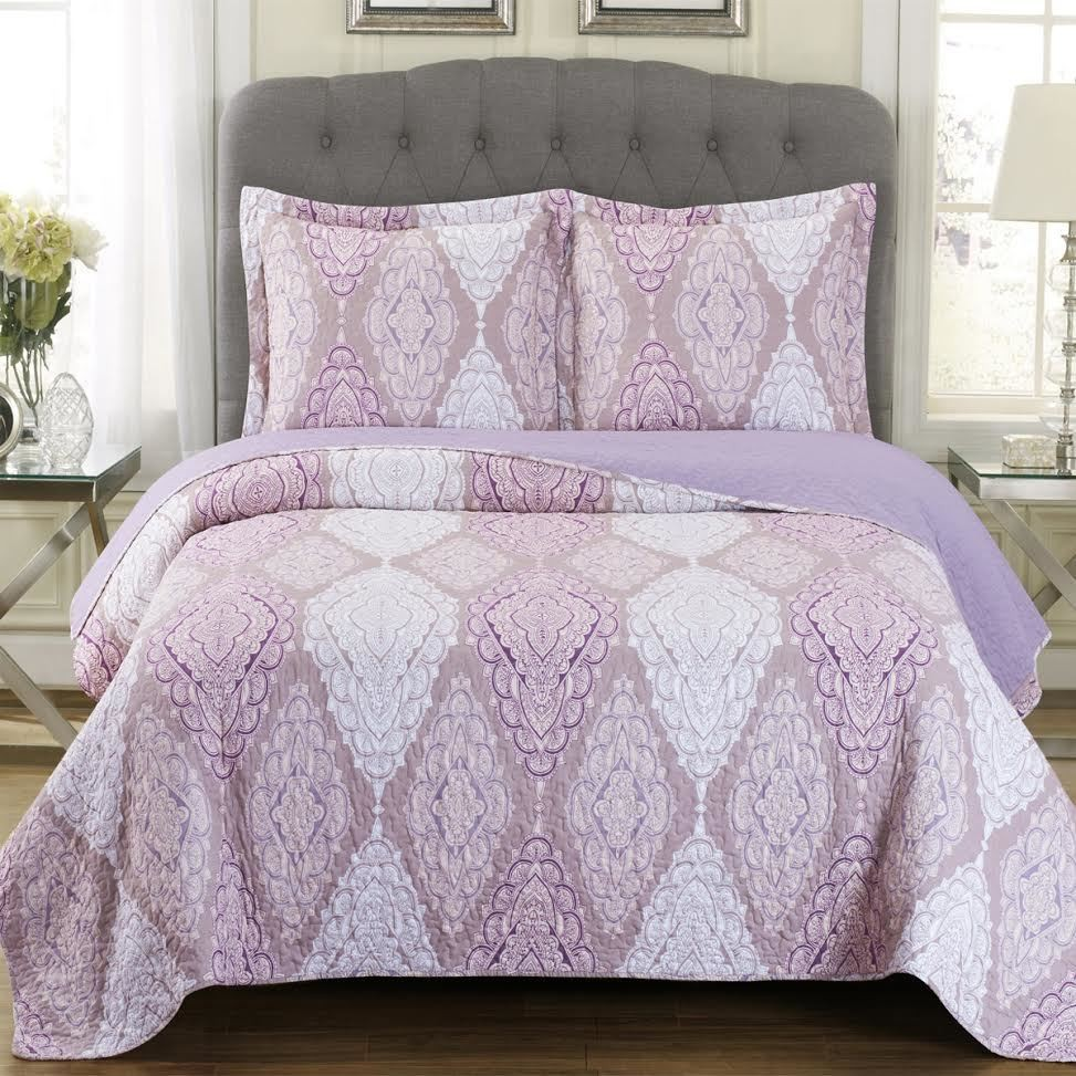 Jewel Oversize Coverlet Quilt Set
