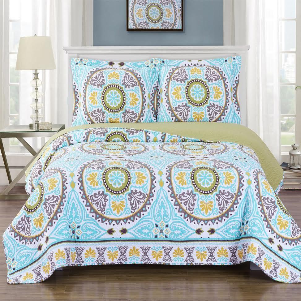 Nyah Oversize Coverlet Quilt Set