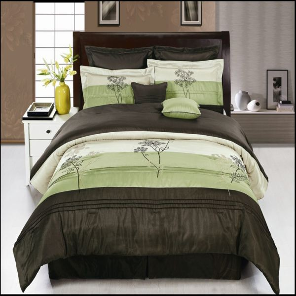 Portland Sage Green 8-Piece Comforter Set
