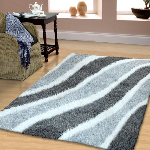 Waverling Hand Woven And Soft Shag Rug