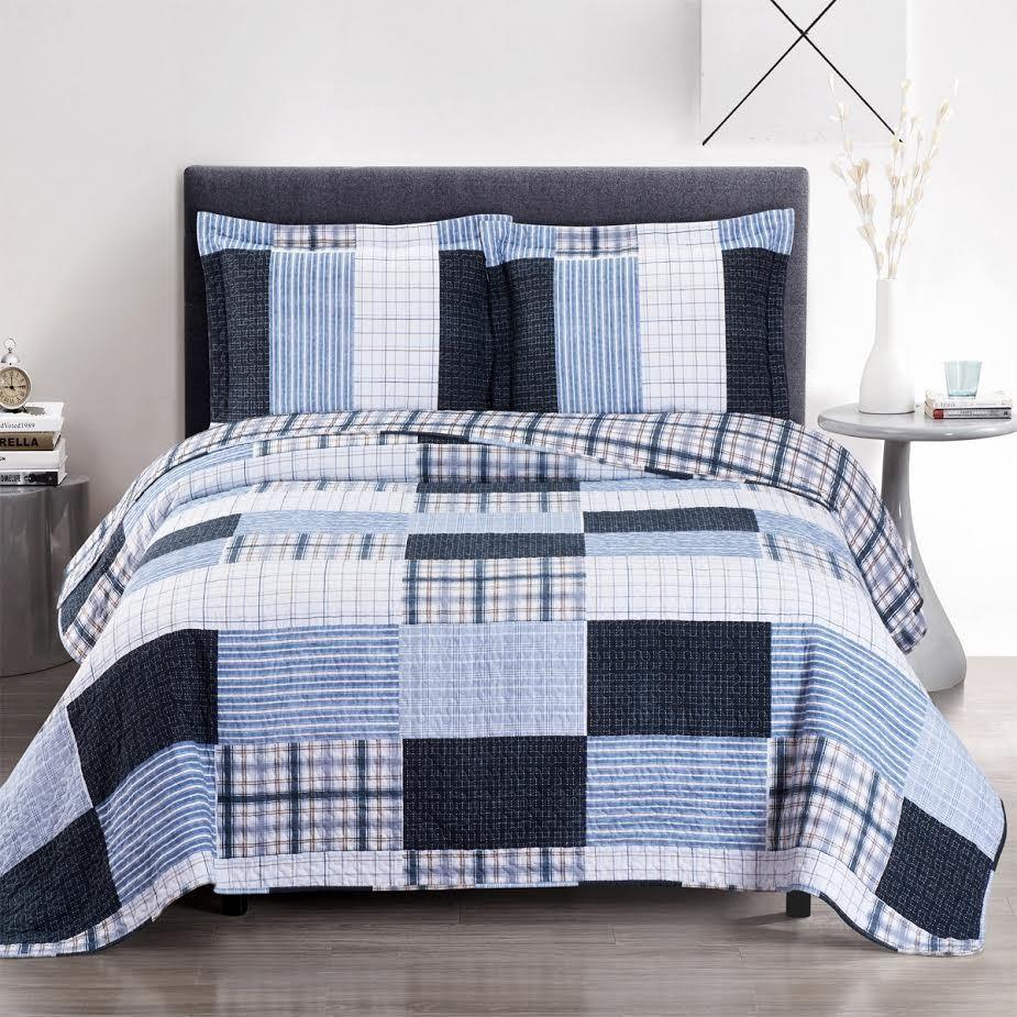 Zoe Oversize Coverlet Quilt Set