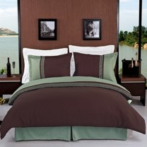 Astrid Embroidered 3-Piece Duvet Cover Set - Full/Queen