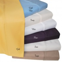 1000 Thread Count Wrinkle Resistant Pillowcases - King Size