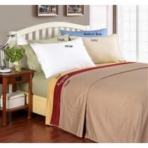 Full Size Sheet Set Egyptian Cotton 1000 TC - Solid