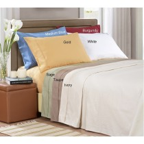 1000 TC Egyptian Cotton Stripe Pillow Cases - King Size