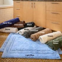 Superior Cotton 2-Piece Bath Rug Set