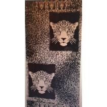 Cheetah Beach Towel