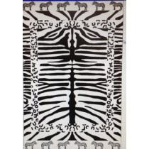 Zebra Print Beach Towel