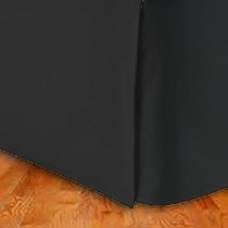 California King Size Tailored Microfiber Bed Skirt
