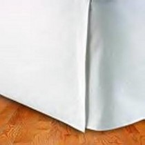 California King Size Tailored Egyptian Cotton Bed Skirt