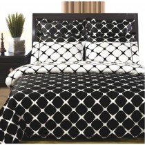 Twin XL Reversible Bed in a Bag - Black/White