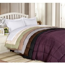 All Season Down Alternative Reversible Blanket-Full/Queen