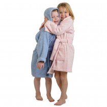 Kids Egyptian Cotton Hooded Bath Robes